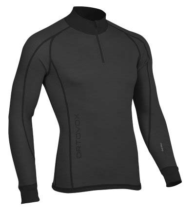 Ortovox 210 Merino Supersoft Longsleeve Men Zip