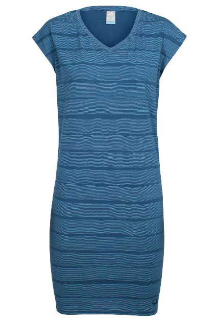 Icebreaker Yanni Tee Dress Combed Lines